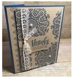 #stampinup    #faithfulinkspirations   Thanks for coming back to see the second card made with  one of  my favorite stamp sets from the 2016...