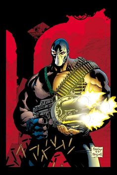 Bane. With a gun. Not that he needs one.