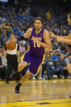 Los Angeles Lakers Pau Gasol