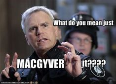Stargate/MacGyver - Love Jack making a MacGyver reference. LOL