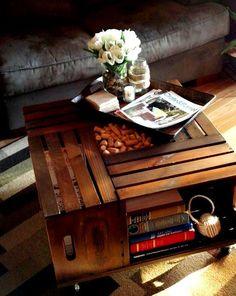 mesa reciclável