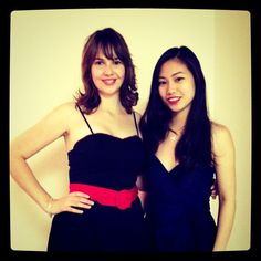 """Ready for Mad Men @klout party! W @Nguyen_lan"" ---@meganberry"