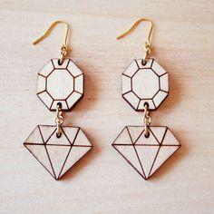 ダイヤモンドのピアスL