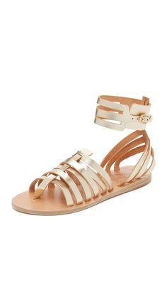 Ancient Greek Sandals Olympia Sandals - Platinum | SHOPBOP.COM saved by #ShoppingIS