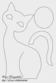 Resultado de imagem para desenhos de gatos para patch aplique