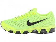 Koop Nike Air Max Tailwind 6 Heren Hardloopschoenen Fluorescerend Groen Zwart Bestellen