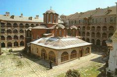 Βορειοδυτική άποψη του Καθολικού της Μονής Κουτλουμουσίου- The Katholikon of Koutloumousiou Monastery from the northwest