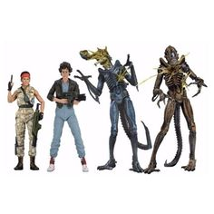 Aliens Series 12 Action Figure Case NECA Alien / Aliens Action Figures