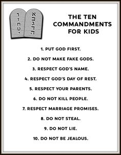 Ten commandments for kids bible school crafts, bible crafts for kids, bible Bible School Crafts, Bible Crafts For Kids, Preschool Bible, Bible Lessons For Kids, Bible Activities, Kids Bible, Kids Church Lessons, Bible Study For Kids, Church Activities