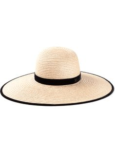 811cd501970 Shop MAISON MICHEL wide brim hat from  Farfetch Maison Michel Hat