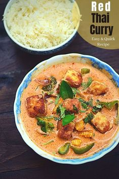 Thai Red Curry Recipe   Recipes & You