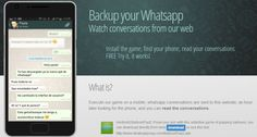 WhatsApp Conversations Stolen By Malicious Android Gaming App -  [Click on Image Or Source on Top to See Full News]