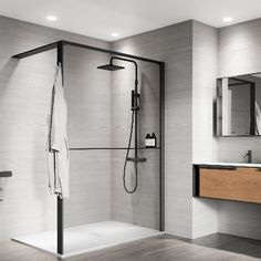 Shower spaces Kuadra HWS - Novellini Wet Floor, Trim Color, Contemporary, Modern, Master Bathroom, Bathroom Ideas, How To Find Out, Your Style, Flooring