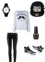 Tenue. Style Swagg.