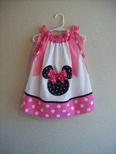 Custom Boutique  Minnie Mouse  Pink  White Polka by AnnMargrock, $21.99 http://media-cache3.pinterest.com/upload/11470174021057894_M7iJAtxG_f.jpg  missnicole515 diy