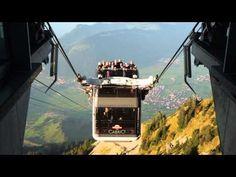 Cabrio Gondola Stanserhorn Switzerland