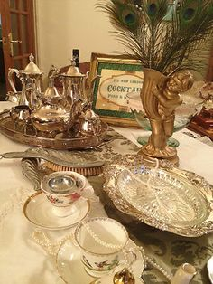Silverware and Vintage Tea! Hire - Gloucestershire & UK wide - Downton Abbey   eBay