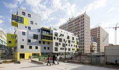 Logements / 31-41 rue des Longues Raies - Paris 13 / Philippe Dubus / Paris Habitat OPH