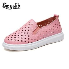 Hollow Out Flats Sneakers
