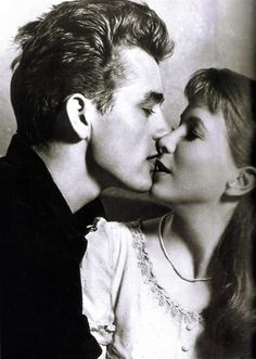James Dean and Julie Harris (Elia Kazan, 1955)