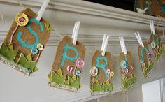Cute Springtime Banner
