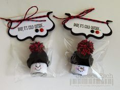Baby, It's Cold Outside.....Snowman Hersey Nuggets {MCT What a Treat Wednesday} PK~520 Winter Face Assortment Package