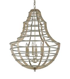 Everest Chandelier | Currey & Company