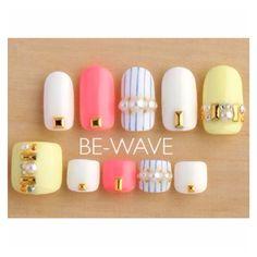 Nails and toes Nail Art Kit, Toe Nail Art, Acrylic Nails, Asian Nails, Nail Pops, Kawaii Nails, Happy Nails, Manicure E Pedicure, Pedicures