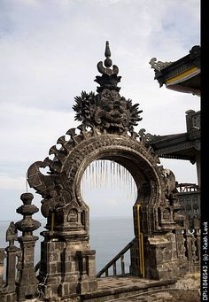 Pura pulaki, Bali, Indonesia, Temple architecture