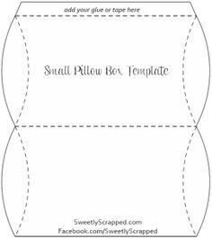 Free Printable Template Boxes For Crafts Treats And Other