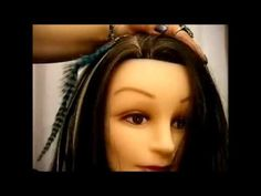 EXTENSIONES DE PLUMAS!!! - YouTube