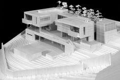 Montagnola Residence, Lugano Switzerland (2011) | Richard Meier & Partners Architects