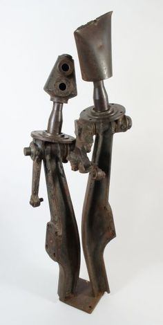 Photographs of metal sculptures by Adam Madebe including his award winning works from 1989 with examples of figurative, abstract and conceptual works. Pregnant Sisters, Sculptures, Abstract, Metal, Home Decor, Summary, Decoration Home, Room Decor, Sculpting