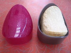 Pringles Case! I had a glittery blue one in my lunchbox every day. Can't believe I almost forgot about these things!