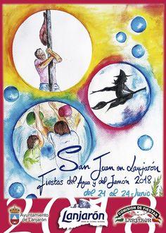 Entre los días 21 y 24 de junio de 2018 se celebran las ya famosas Fiestas de San Juan de Lanjarón (Alpujarra de Granada)