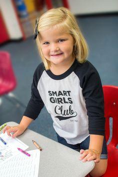 133dd4c75 Smart Girls Club T-shirt by Free to Be Kids - #clotheswithoutlimits -  www.clotheswithoutlimits.com