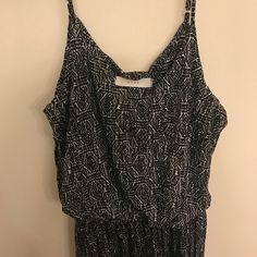 Lush print maxi dress (see photos) NWOT! Perfect dress for summer/spring/fall. Super soft. Dresses Maxi