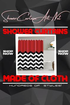Drastically enhance your bathroom decor with a soft & stylish fabric shower curtain from Shower Curtain Art. Shower Curtain Art, Modern Shower Curtains, Fabric Shower Curtains, Striped Shower Curtains, Man Cave Bathroom, Downstairs Bathroom, Shower Accessories, Kids Room Wall Art, Room Art