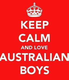 Love australian boys