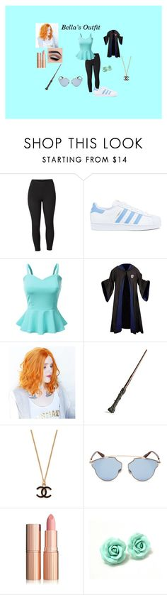 """""""Bella's Outfit"""" by animemaymay on Polyvore featuring Venus, adidas, Doublju, Christian Dior and plus size clothing"""