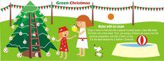Green Christmas by María Belén De Rienzo