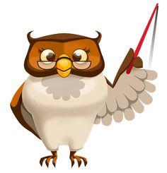 teacher owl clipart cartoon transparent google kindergarten background animal funny icon icons writing teaching clip animals cute owls cartoons format