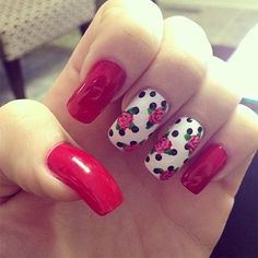 Acrylic nails art designs 2015 trends
