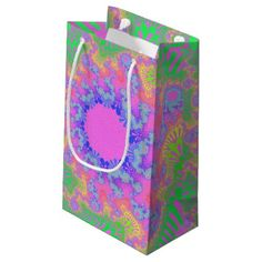 80th Birthday For Parents Small Gift Bag