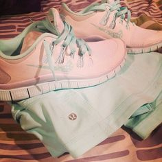 Nike and lululemon. What more could a girl want! I love the color