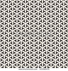 Vector Seamless Black and White Mosaic Triangular Shapes Pattern. Abstract Geometric Background Design.