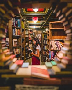 The Last Bookstore, Los Angeles, CA | http://writersrelief.com