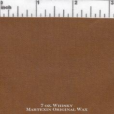 Whisky 7 oz Sailcloth Martexin Original Wax
