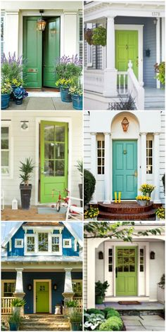 Curb Appeal Ideas From Minneapolis Minnesota | Green front doors ...