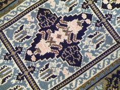 Cross Stitch Designs, Cross Stitch Patterns, Filet Crochet, Cross Stitch Embroidery, Needlepoint, Bohemian Rug, Needlework, Diy And Crafts, Applique